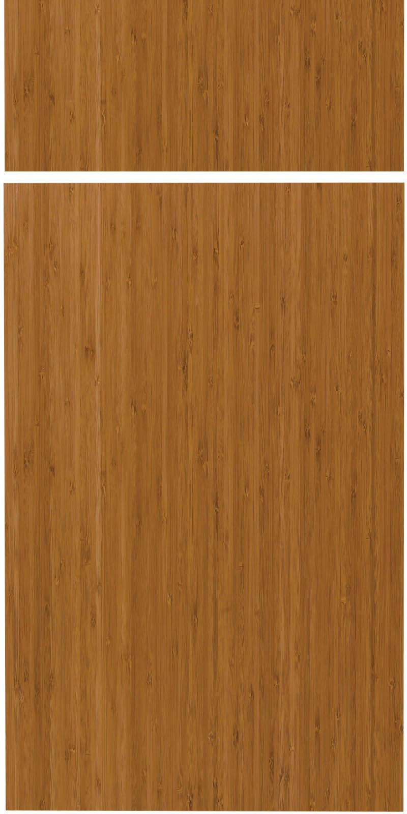 Savory – Caramelized Bamboo Door Sample