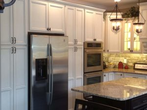 Custom Cabinets around appliances..