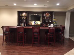 Custom Bar area