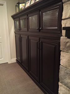 Tall Cabinets with mesh doors