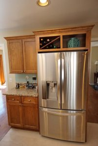 Refrigerator Cabinet with wine storage