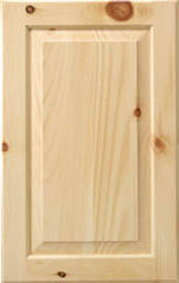 Knotty Pine Sample Door